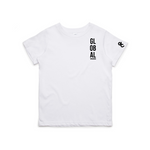 Global Vision Kid's T-Shirt- WHITE