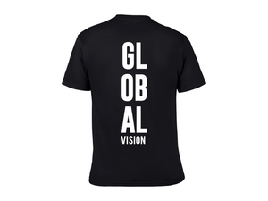 Global Vision Unisex T-Shirt- BLACK