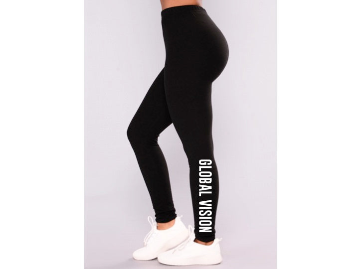 Global Vision Leggings - BLACK
