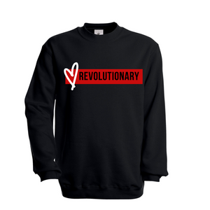 Love Revolutionary (Bar) Unisex Sweatshirt
