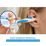 Safe Ear Cleaner Tool Ear Wax Cleaner Removal Easy Swab Earwax Remover Spiral Soft