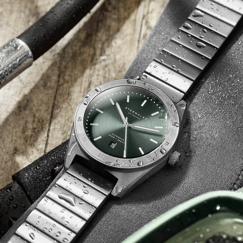 Marus green / Block strap