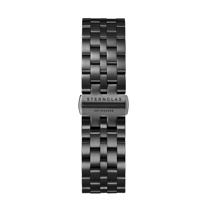 Metal strap 20 DLC black