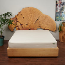 "100% Natural 8"" Eco-Deluxe Mattress With Eco-Wool & Cotton Case"