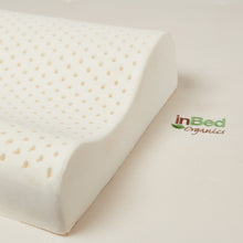 Certified Organic Latex Rubber Contoured Pillow