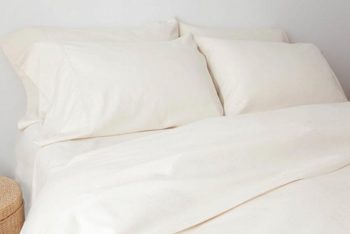 Certified Organic Flannel Duvet Cover