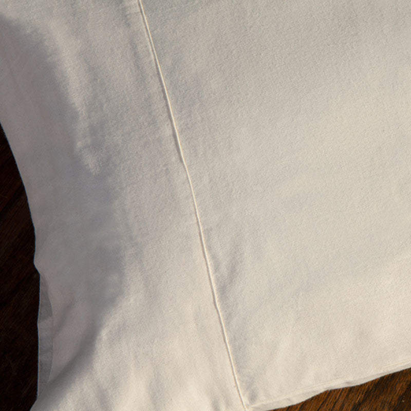 Certified Organic Cotton- Flannel Pillow Case