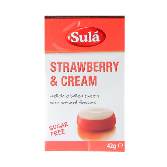 Sula Sugar Free Sweets Strawberries & Cream