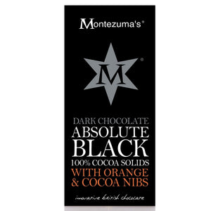 Montezuma's 100% Cocoa with Orange Nibs
