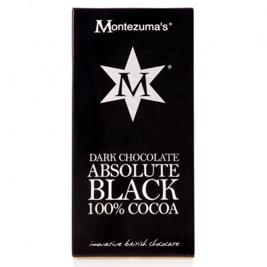 Montezuma's 100% Cocoa Chocolate Bar