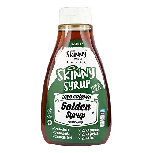Skinny Foods Dessert Taster 5 Pack - White Chocolate, Golden Syrup, Gingerbread, Toffee Apple, Chocolate Orange Dessert Topping Sugar Free Zero Calories Guilt Free Sauce