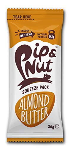 Pip & Nut Smooth ALMOND Butter Squeeze Packs - 20 x 30g