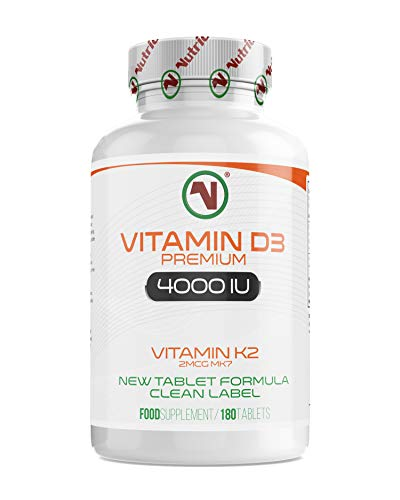 Nutriodol Vitamin D3 4000iu 180 High Strength Tablets