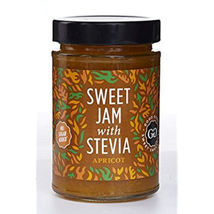Good Good Apricot Jam With Stevia 330g