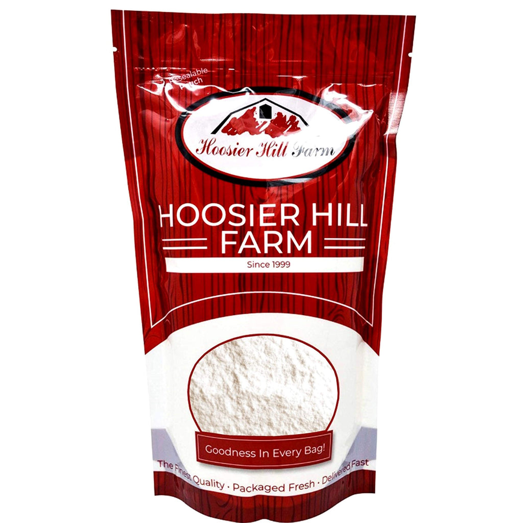 Pure Egg White Powder Unflavoured (1 kg) Desugared Non-GMO No-Additives Not-Irradiated by Hoosier Hill Farm