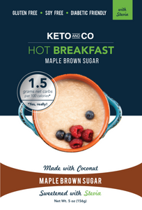 Keto Hot Breakfast - Maple Brown Sugar With Stevia | In The UK