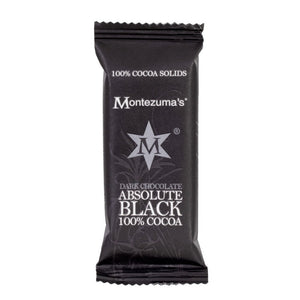 Montezuma Absolute Black Mini Bar 30g