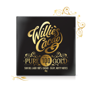 Willie Cacao, Pure Gold 100% 40g