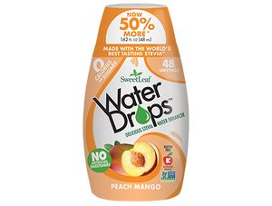 Water Drops, Peach & Mango (48 servings)