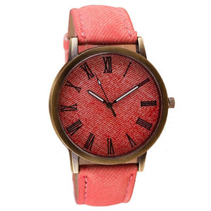 Demin Retro Light Red