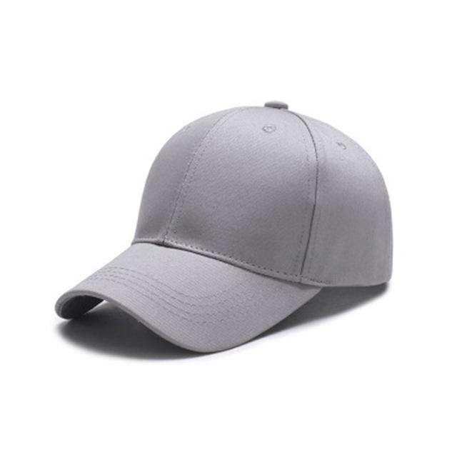 2018 Solid Color Baseball Cap