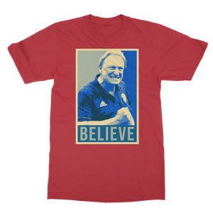 BELIEVE Warnock Classic Adult T-Shirt