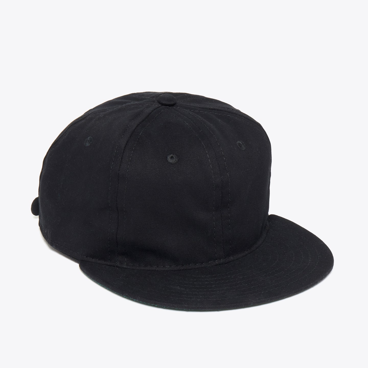 Black Cotton Ballcap