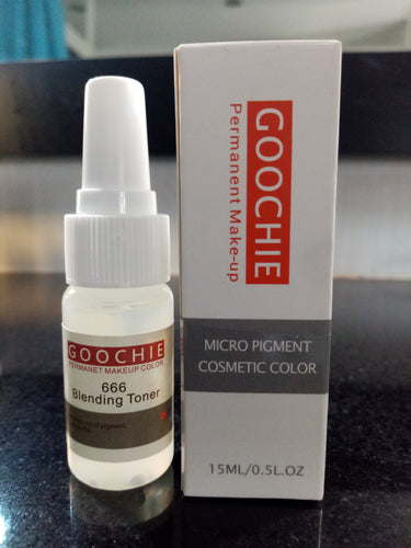 Goochie Blending Toner for Semi-Permanent Cheek Blush or other Cosmetic Tattoo