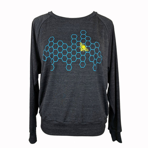 Honeycomb Bee Sweatshirt