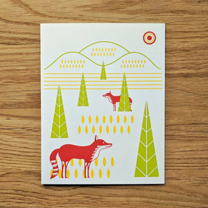 Fox Hills Greeting Card