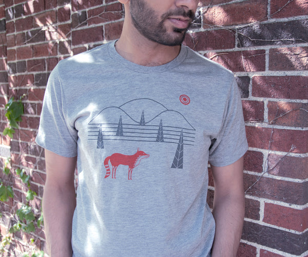 Fox Hills Heather Gray T-Shirt