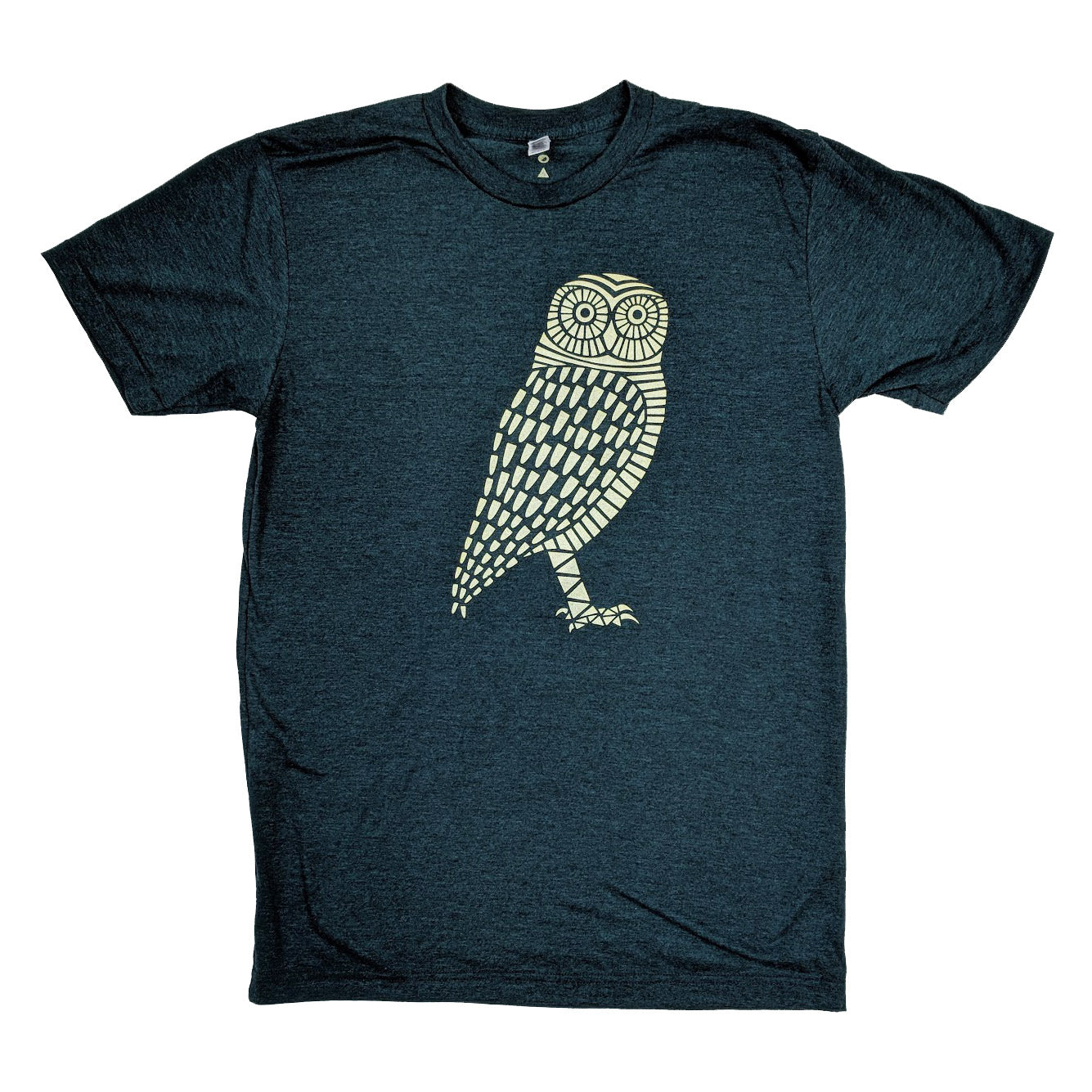 Gold Owl Heather Aqua T-Shirt