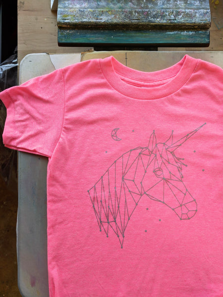 Unicorn Constellation Kids T-Shirt