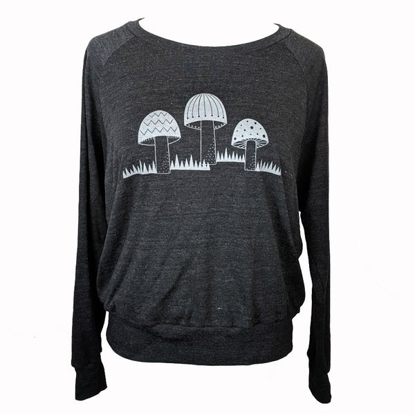 Three Mushrooms Sweatshirt