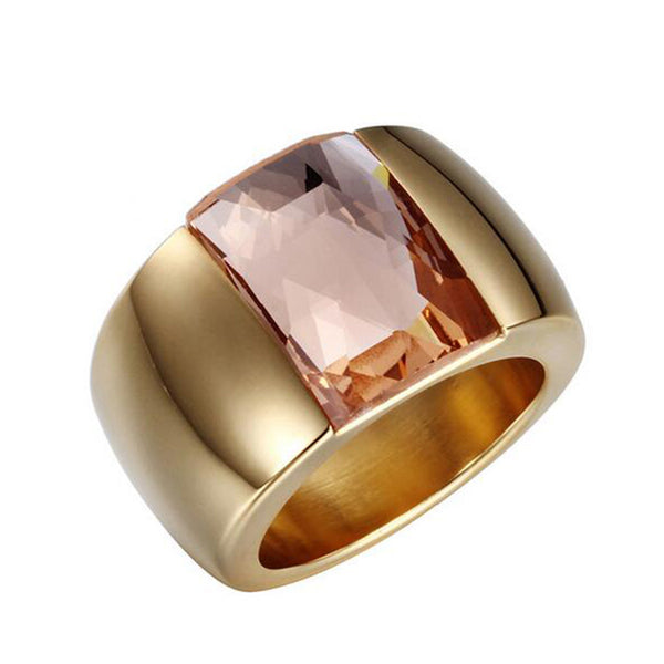 Women Fashion Stainless Steel Ring