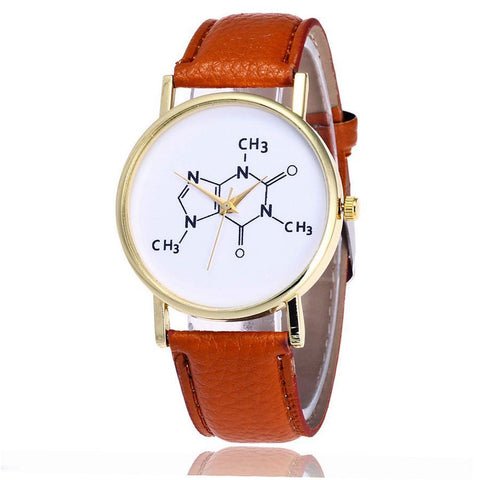Unique Women Leather Quartz Watches