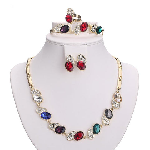 Necklace Set For Women Wedding Accessories