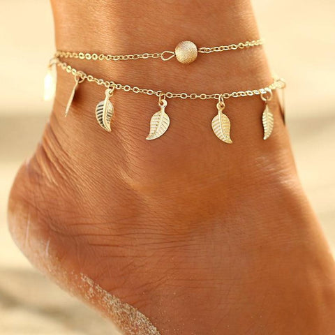 Anklet Foot Chain Bohemian Handmade.