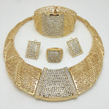 Gold Color Jewelry Sets Costume Romantic new Design