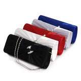 Women Lady Bridal Shoulder Wedding Clutch Bag