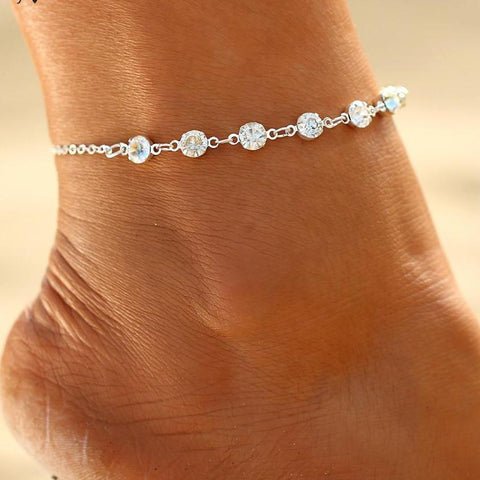 Fashion Crystal Anklets For Women