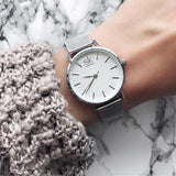 Stainless Steel Watches Women Luxury