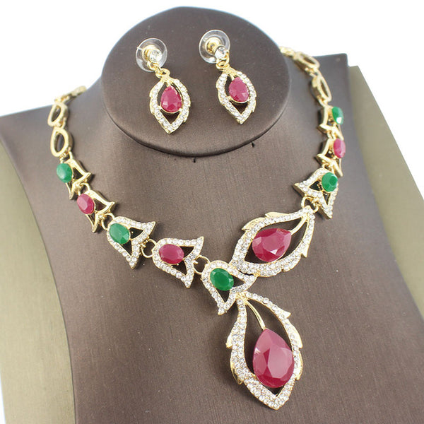Clothing accessories bridal jewelry sets