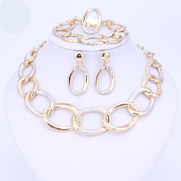 High Quality Necklace Earrings Bracelet Ring For Party