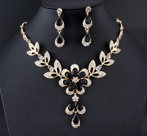 Jewelry set for women Gold color