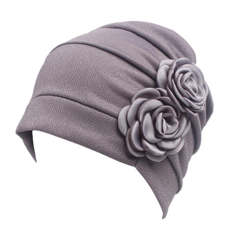 Women Large Flower Model Headscarf