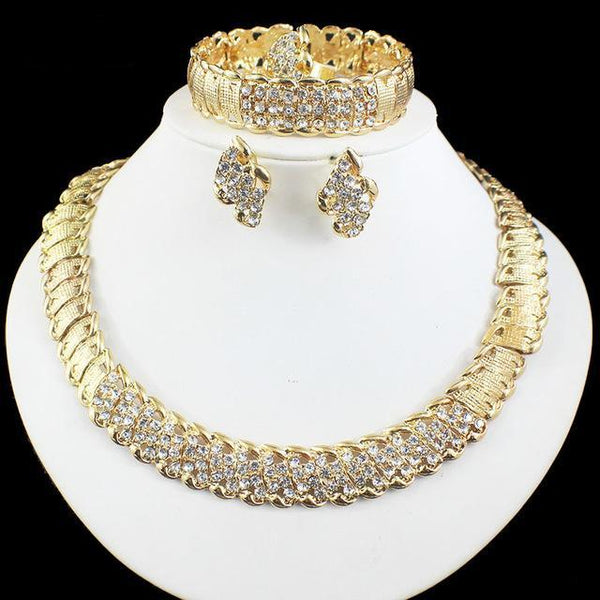 Wedding Design Jewelry Sets Necklace