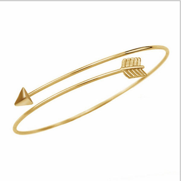 Women Gold Bangle Bracelet