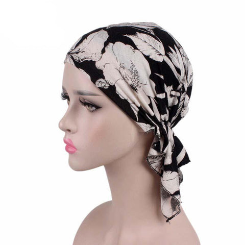 Head Scarf Chemo Hat Cancer Scarves Lady