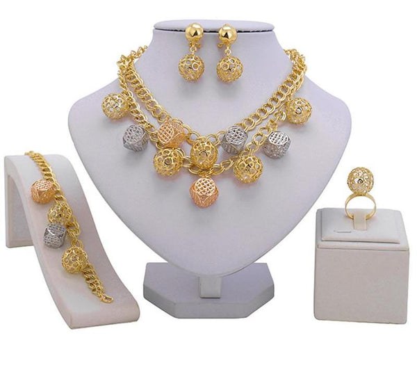 Wholesale Fashion African Beads Jewelry set